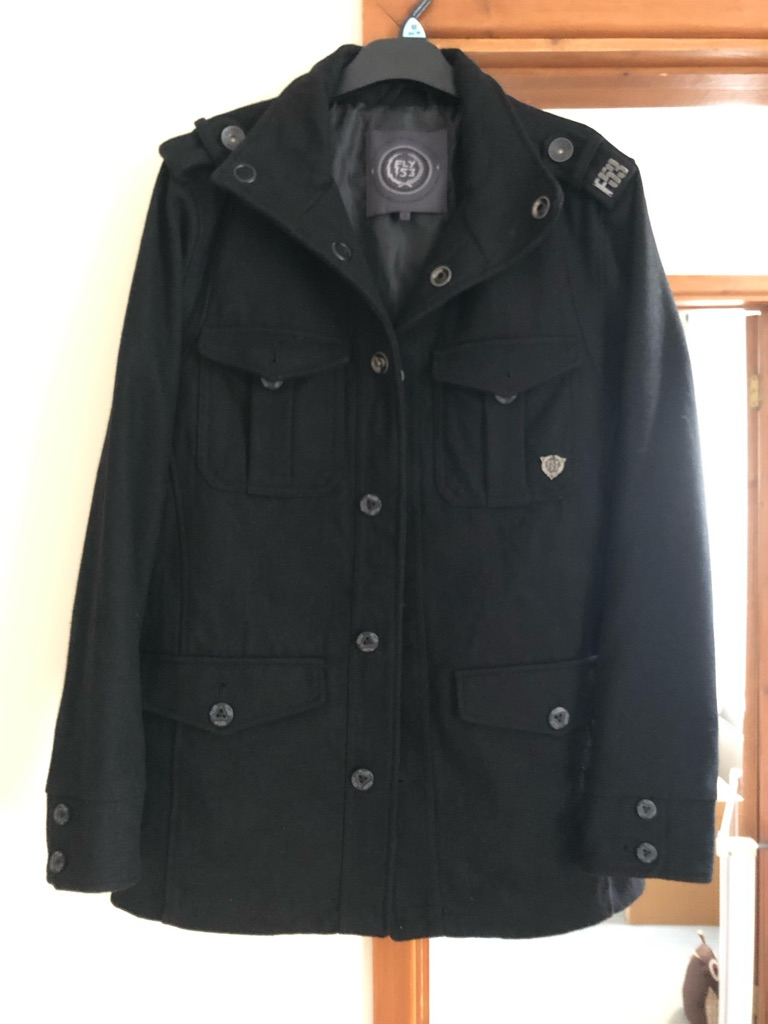 Fly53 black coat