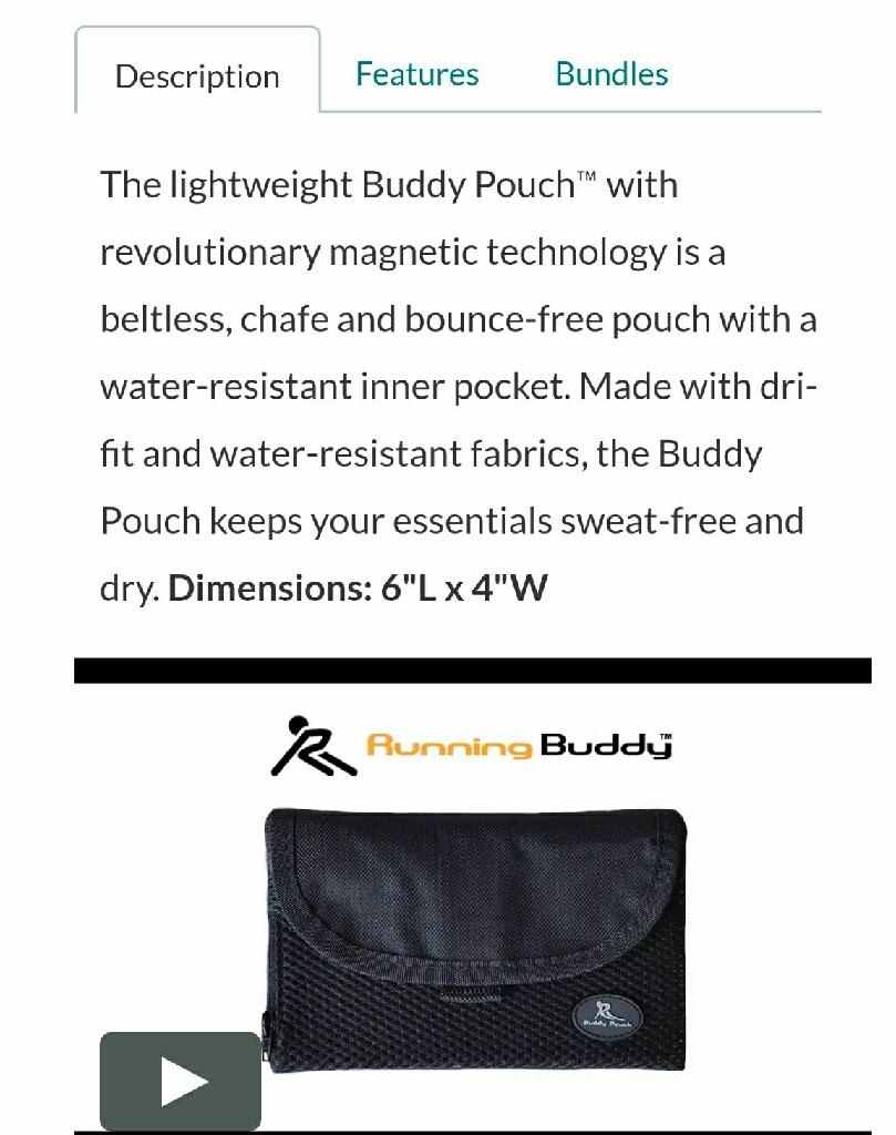 2 Buddy Pouches
