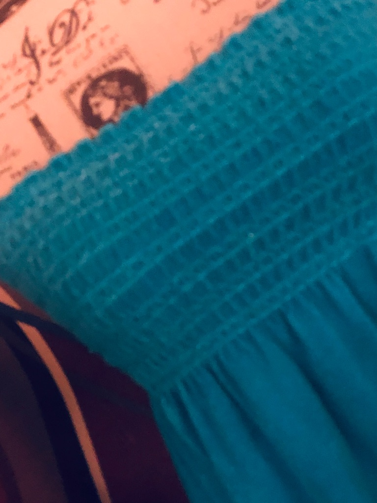 Juicy Couture Terry Cloth Turquoise Cover Up/Mini SZ M
