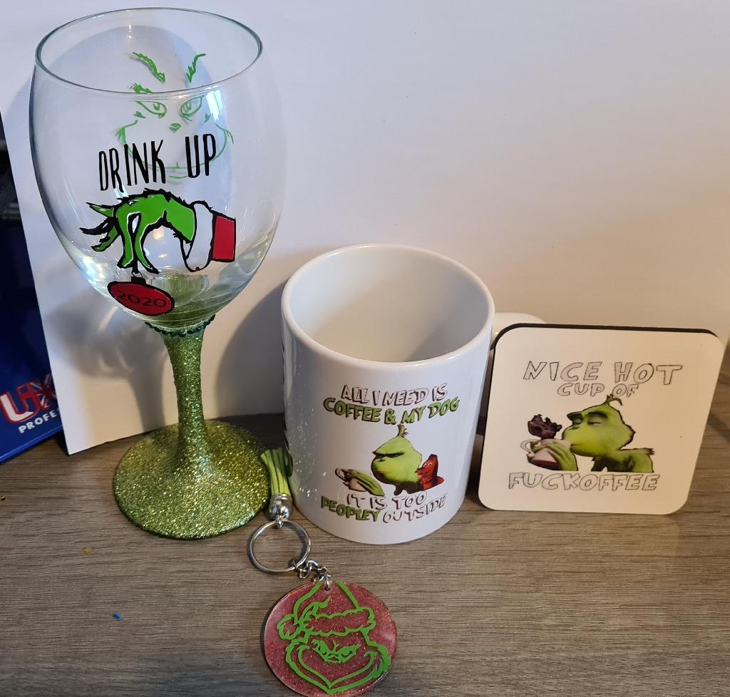 Grinch gift set