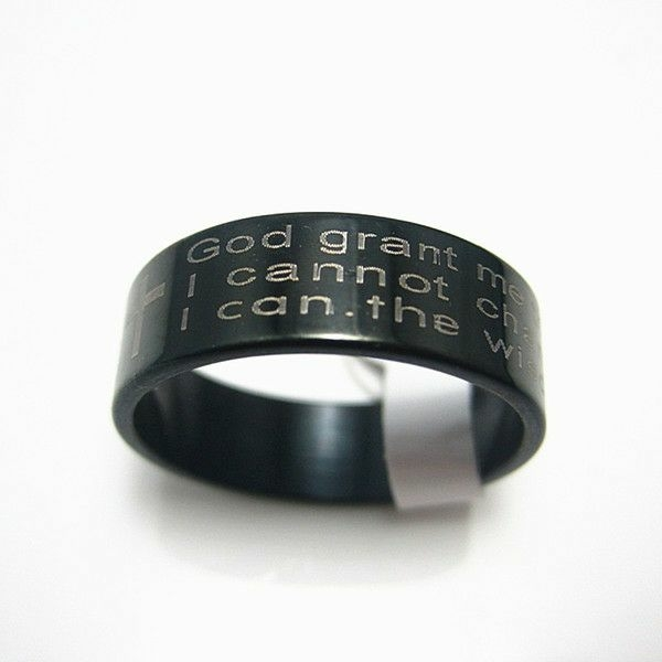 Serenity Prayer Rings