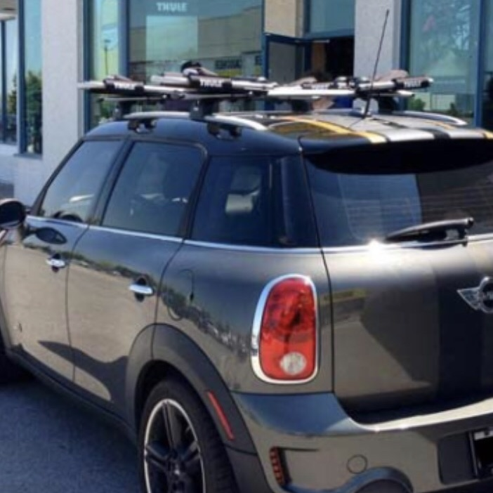 Mini Countryman Roof Bike Carrier