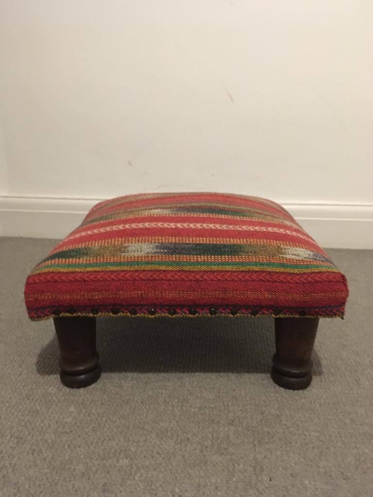 Bohemian footstool