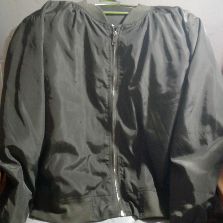 Light jacket green