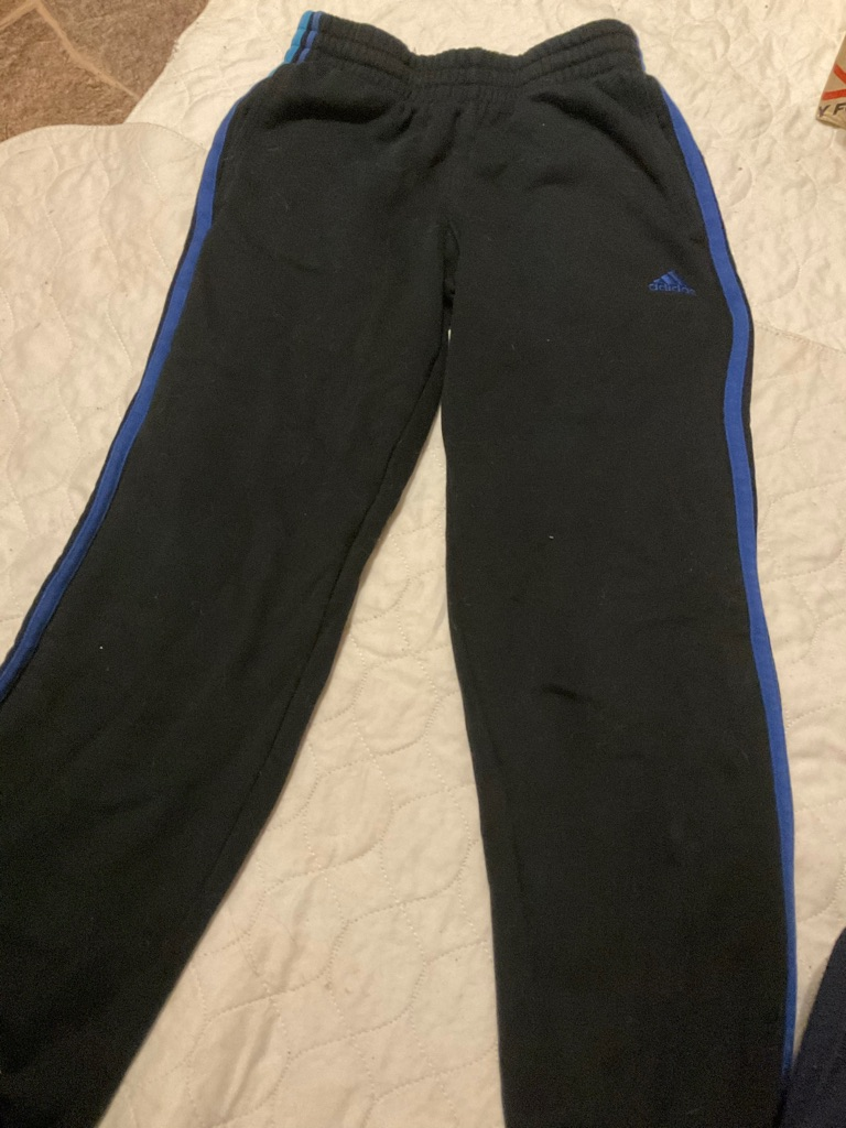 Adidas joggers 9-10 years