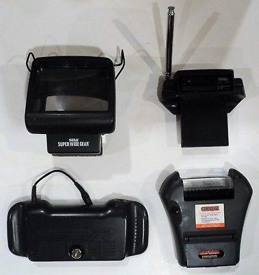 Sega Game Gear bundle set huge lot w/ 30 games, bag, cables, acessories *TESTED*