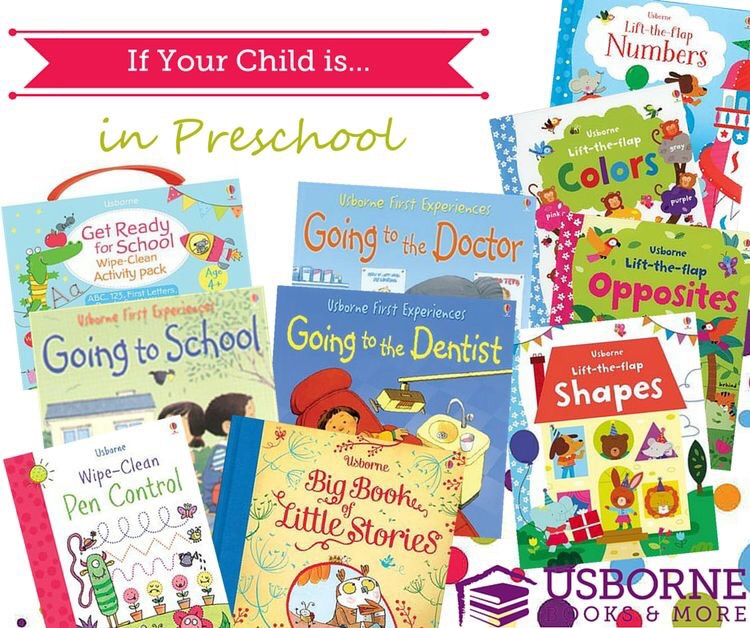 Preschool book range from Usborne Books