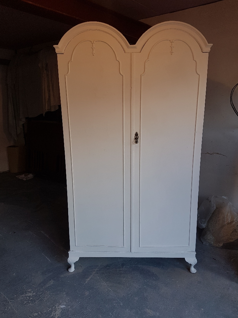 Shabby chic ( French style) double wardrobe