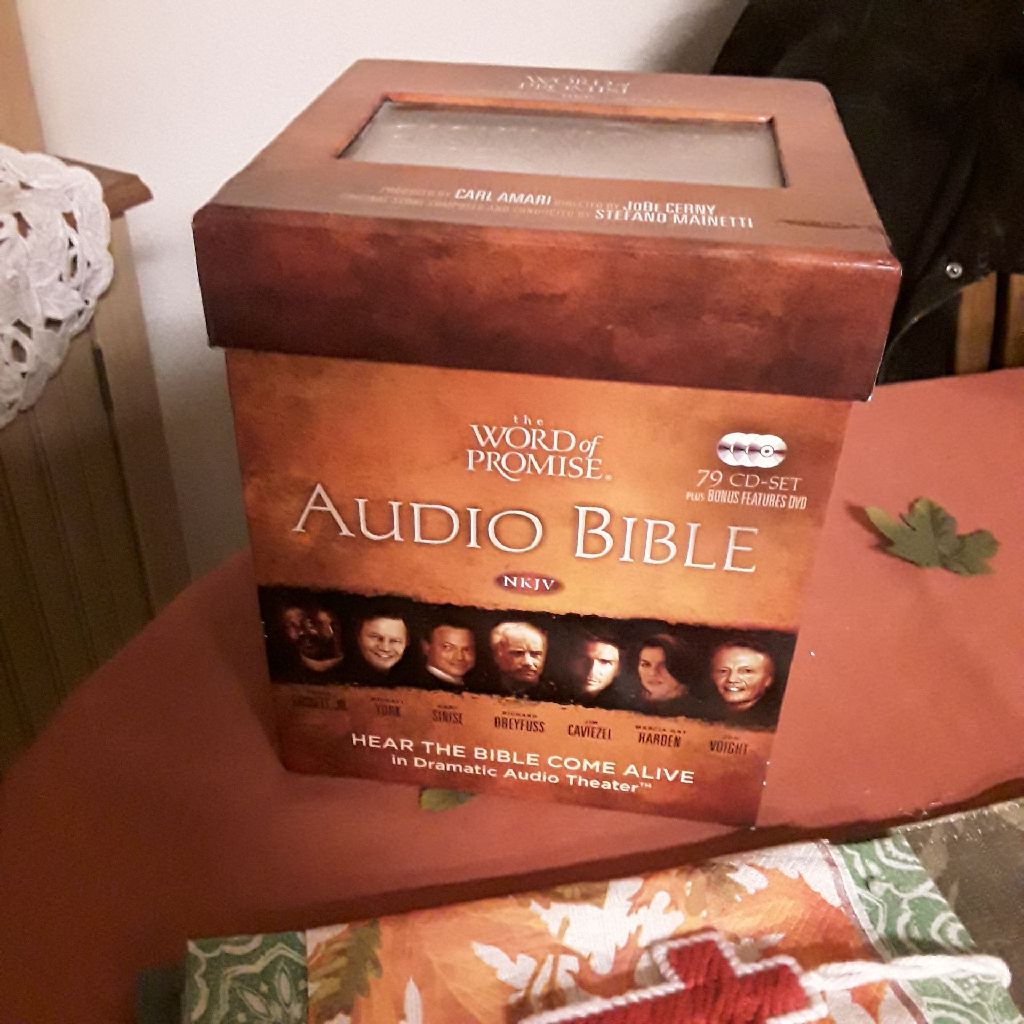 AUDIO BIBLE nkjv, narrated by actors & actresses, Word of promise, 70$😃