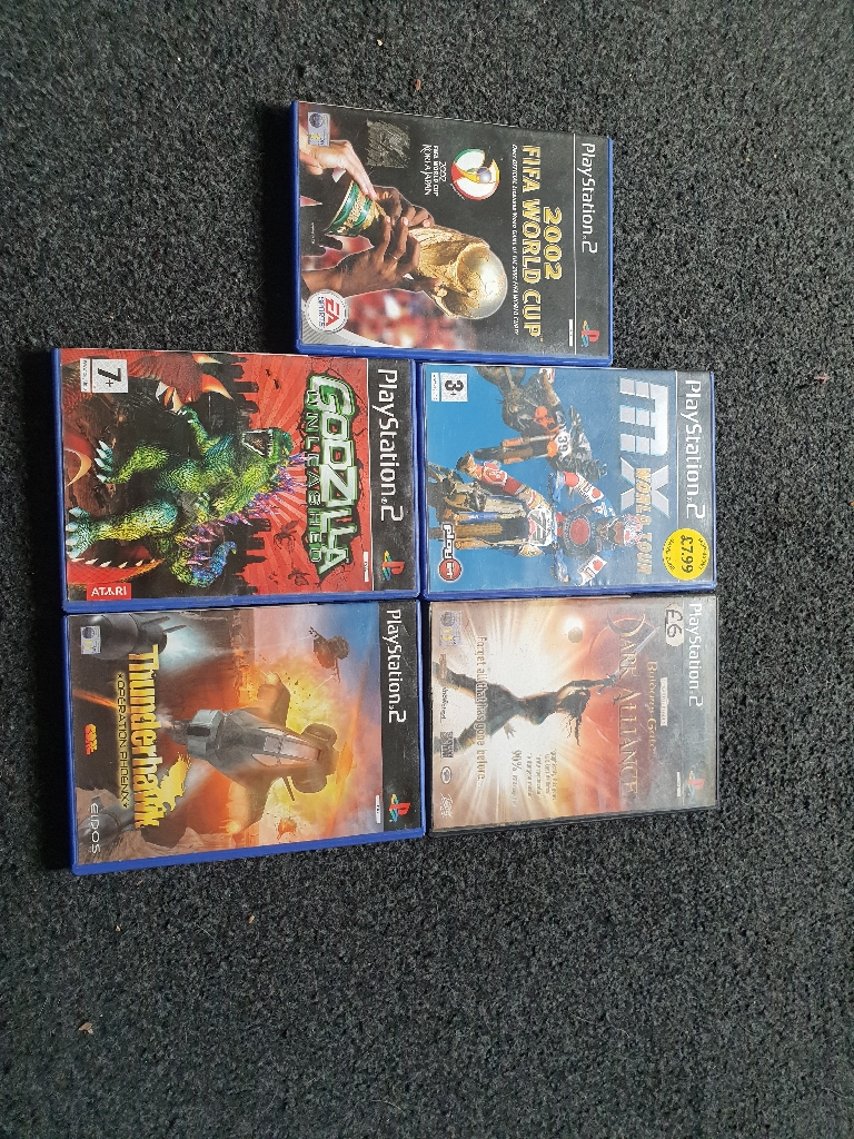 Ps2 consoles and games