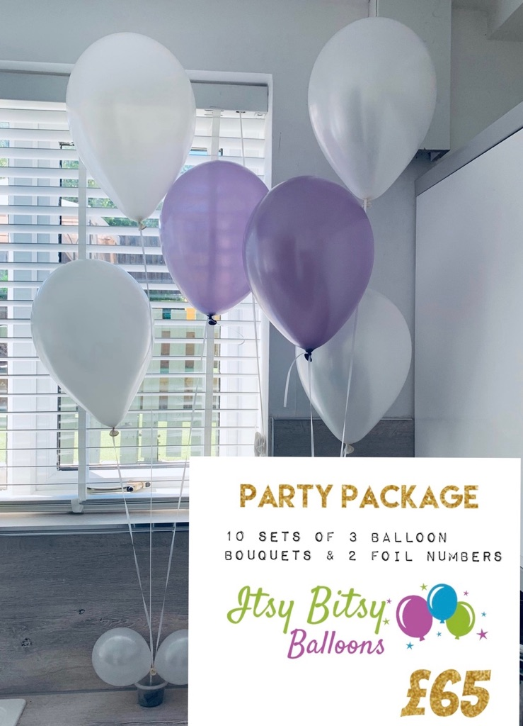 Balloon decoration party package - special occasion / birthday / wedding / party