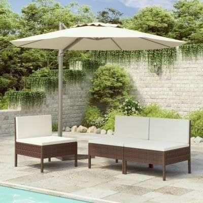 3 Piece Garden Chairs