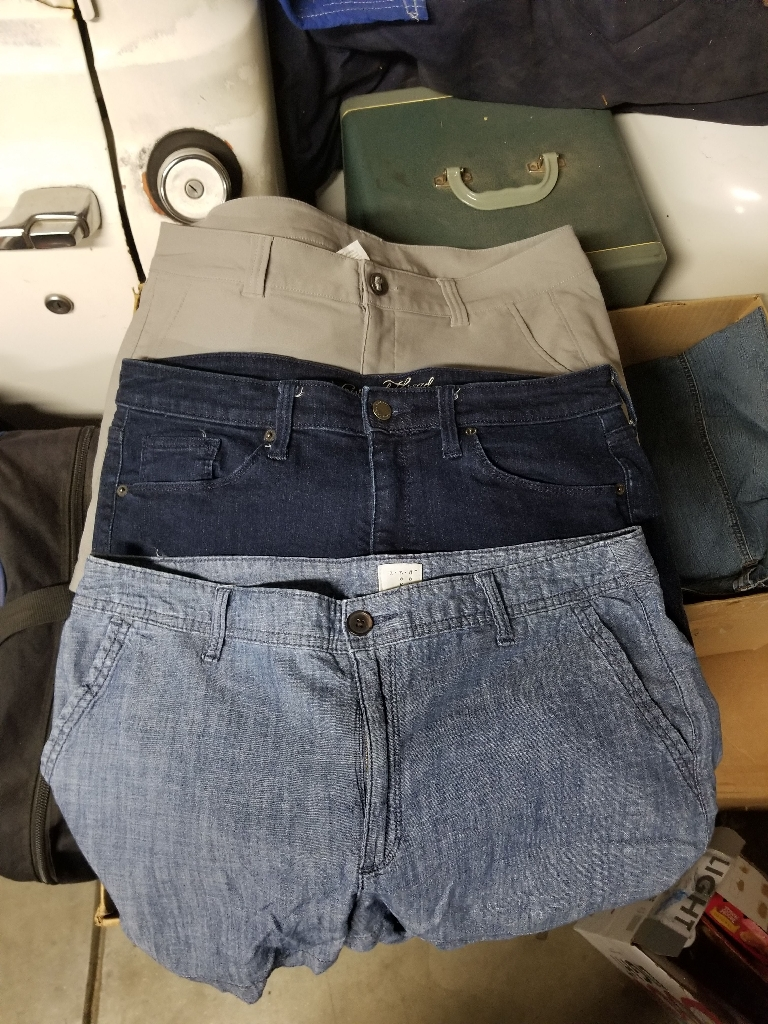 3 pairs of shorts size 12 $5 each