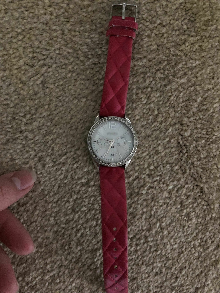 Genova pink watch