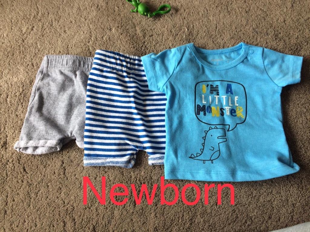 131 newborn / 0-3 months baby boy clothss