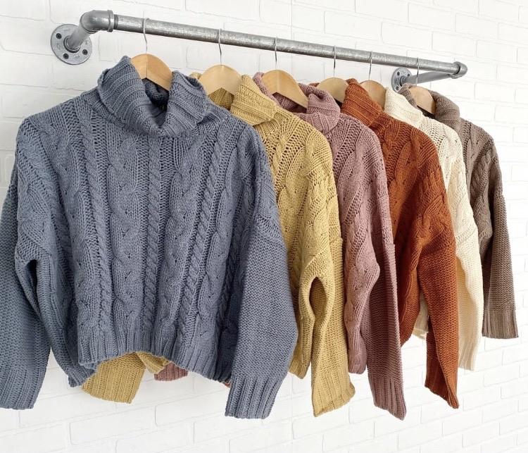Sweater 20% off using my code below ⬇️