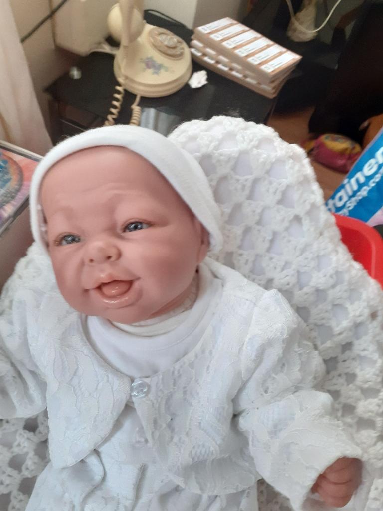 Beautiful rebone baby doll