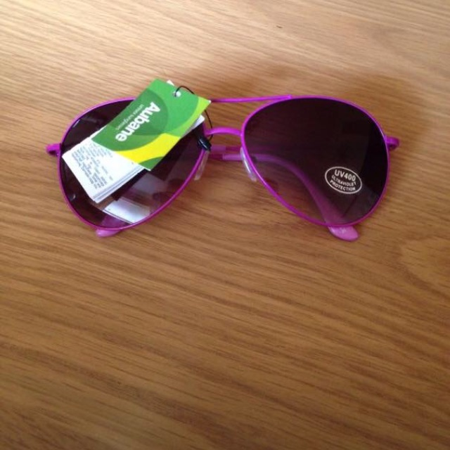 Brand New Purple Sunglasses