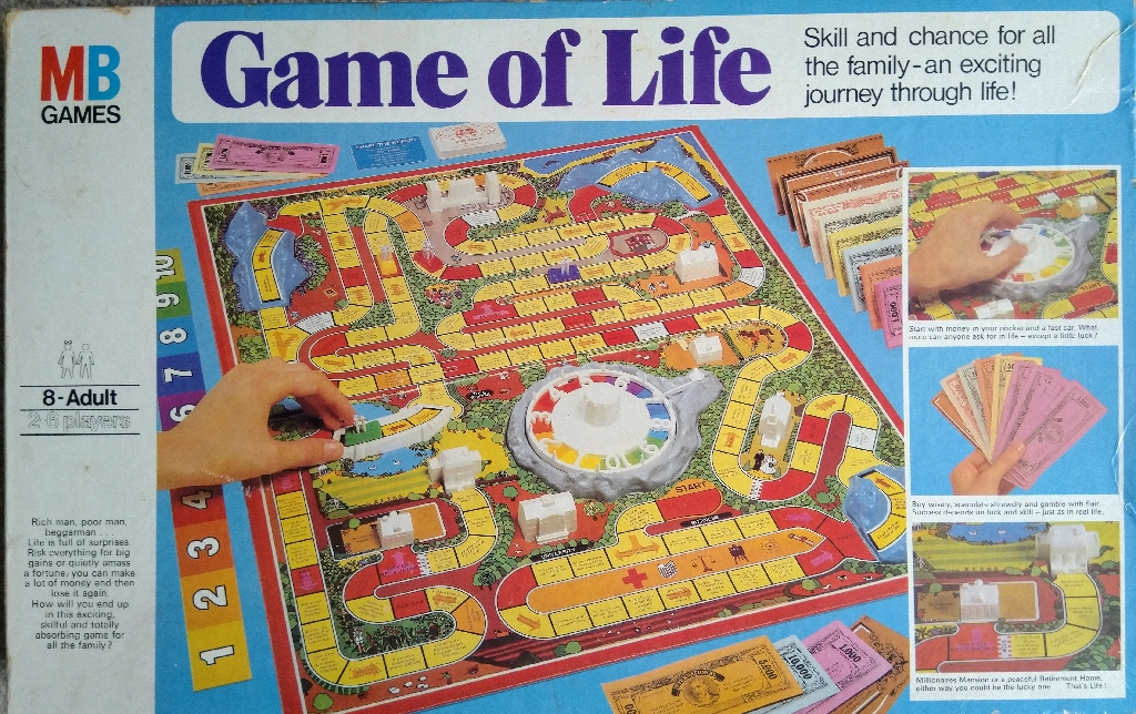 Vintage 1978 Game of Life by MB Games