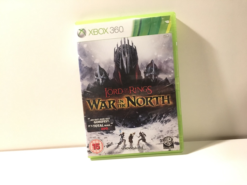 Lord of the Rings: War in the North Xbox 360 Game Mint