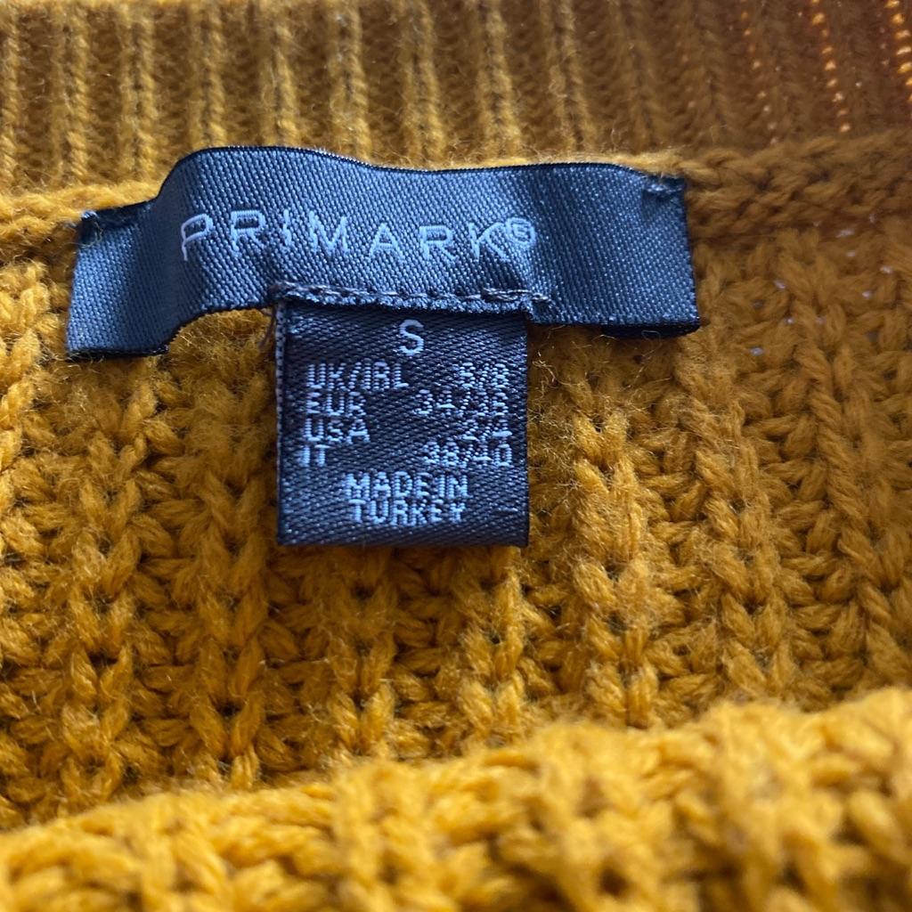 Mustard Knitted Jumper