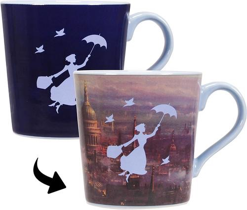 Mary poppins heat changing mug