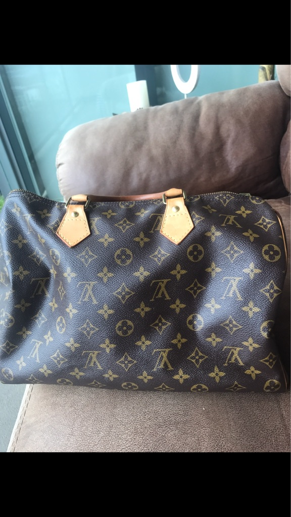 💯Authentic Louis Vuitton Speedy 35