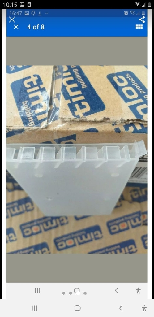 6x50p Timloc 1143CL Cavity Wall Weep Vents