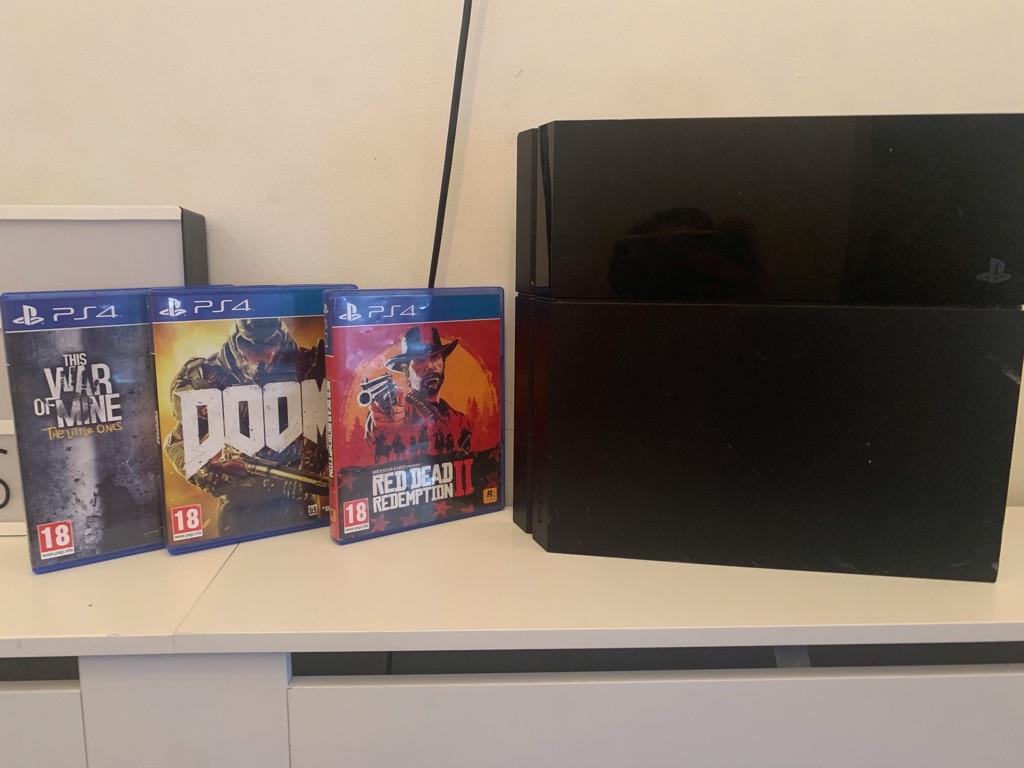 PS4 +Games