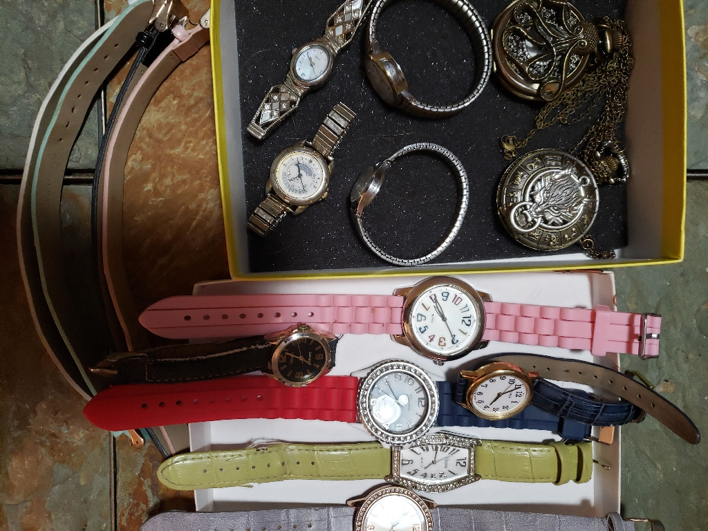 Ladies vintage and fashion watches