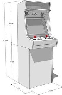 Custom arcade machines for sale