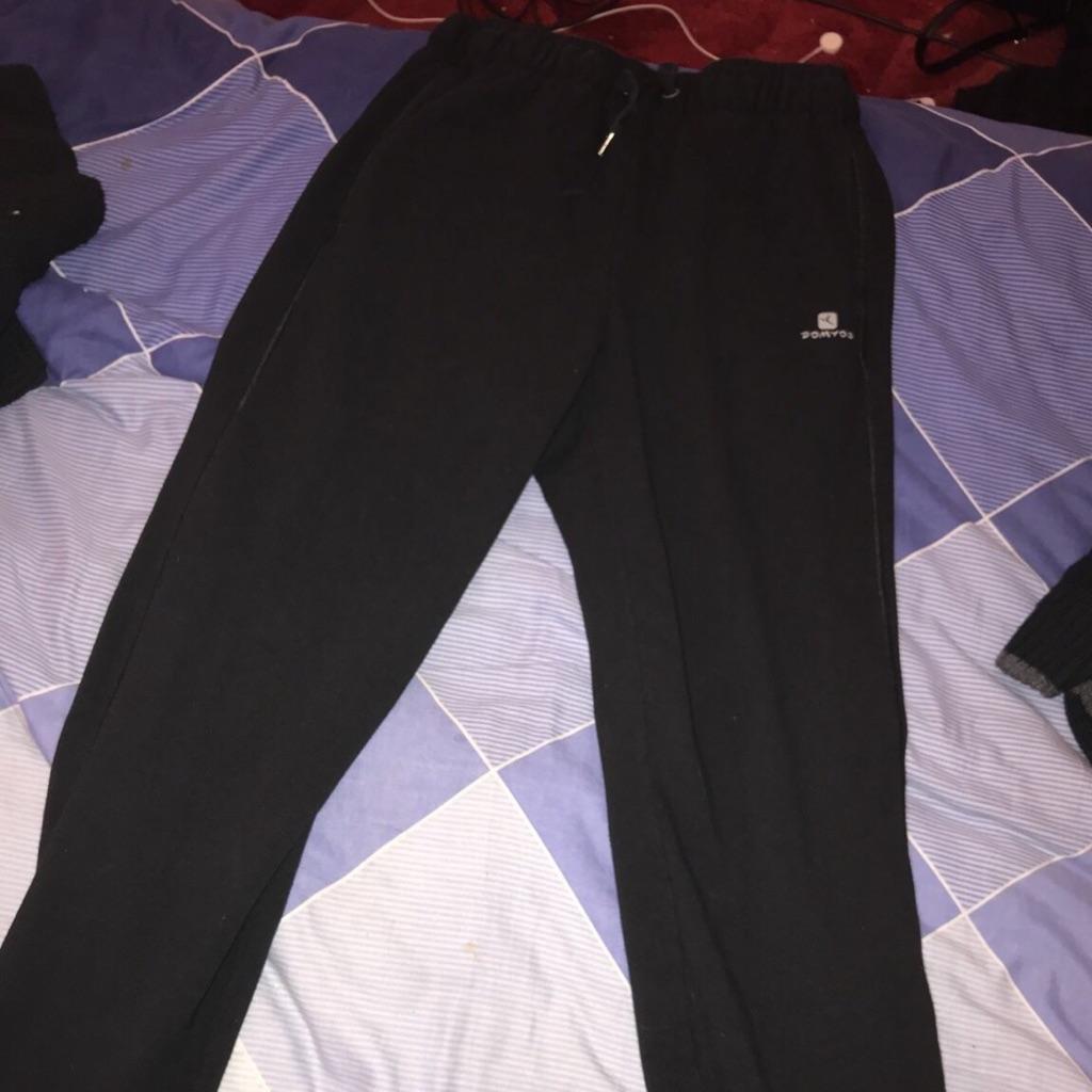 Black comfy joggers