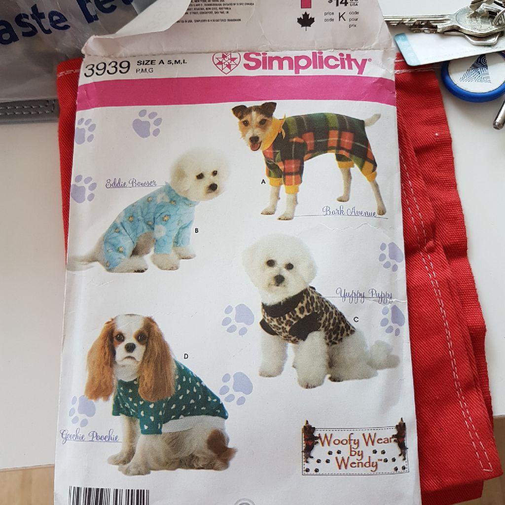 Dog coat paton s m l