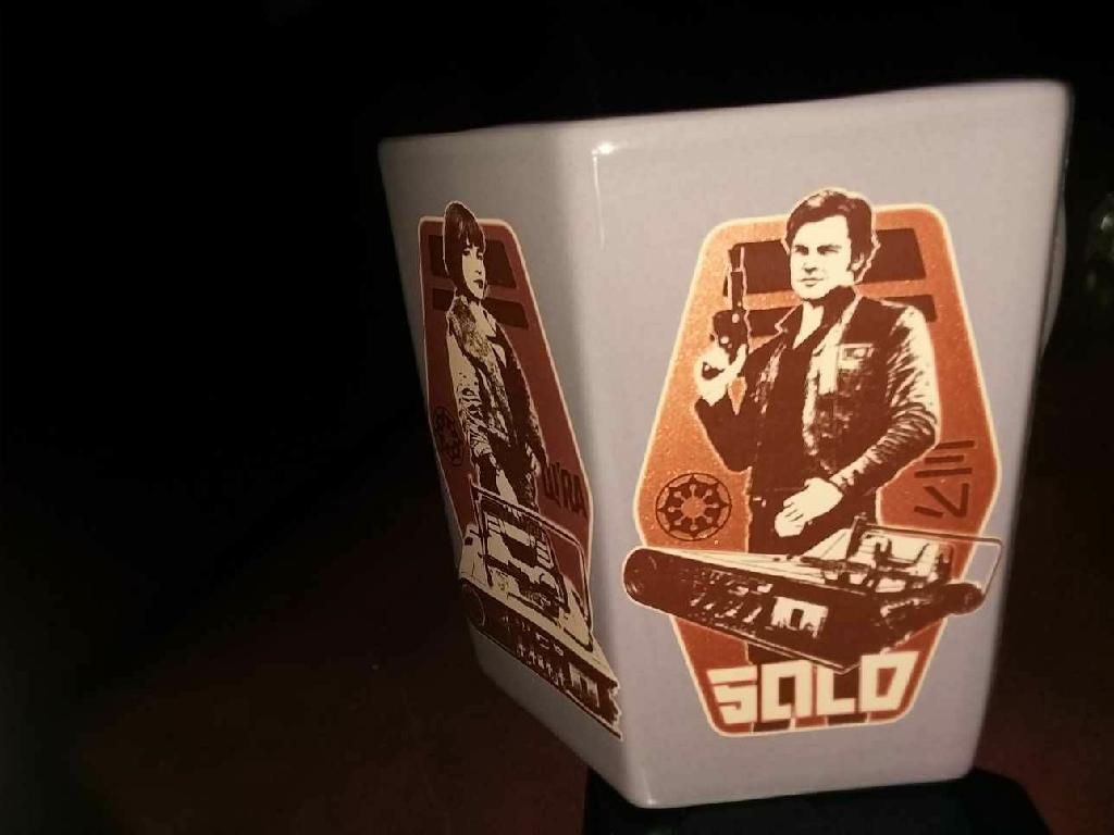 Disney 6 sided Star Wars mug
