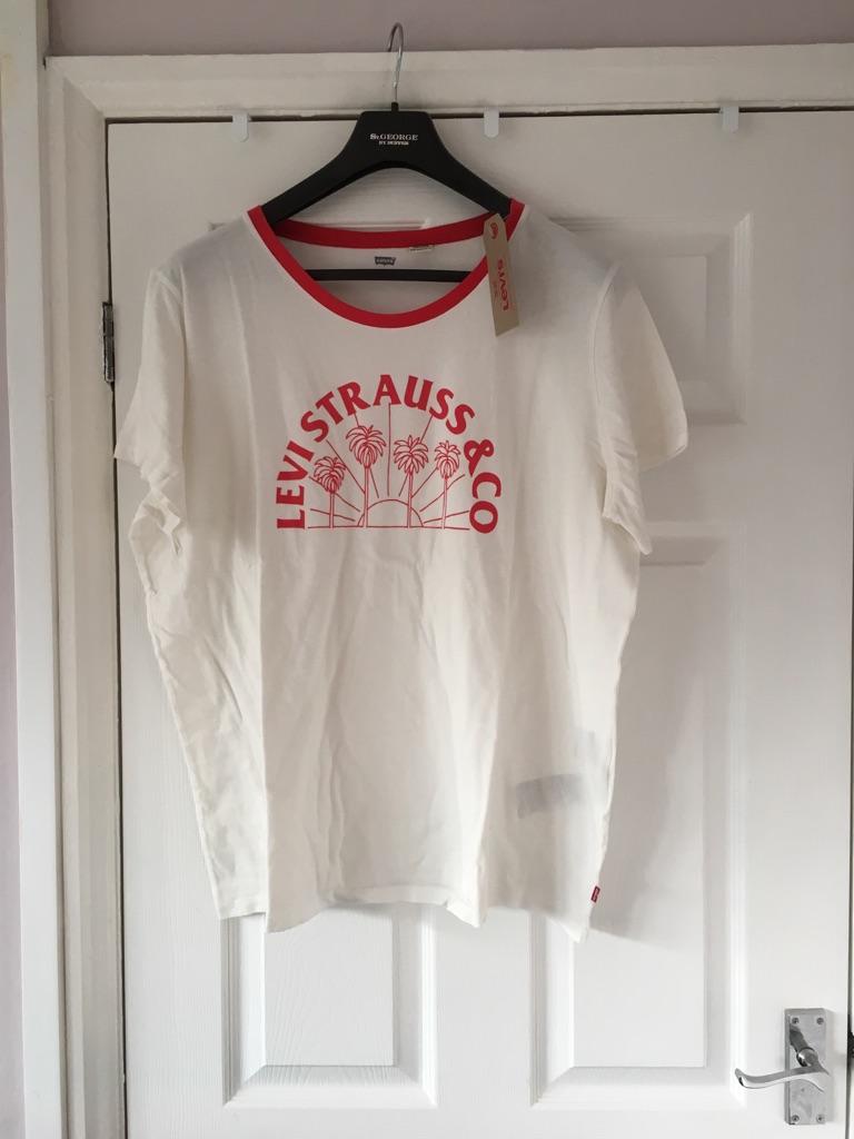 Ladies Levi Strauss T Shirt Size 18-20 NWT