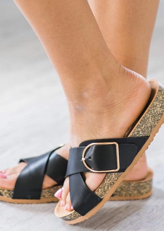 Buckle sandals 20% off using my code below