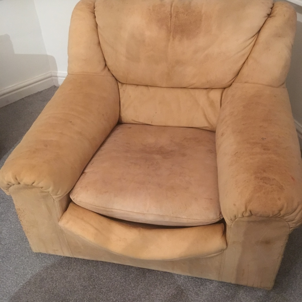 2 leather arm chair