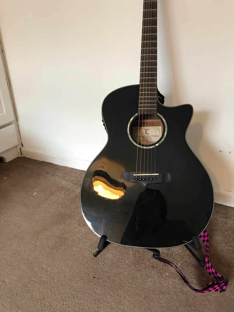 Tanglewood electric acoustic guitar