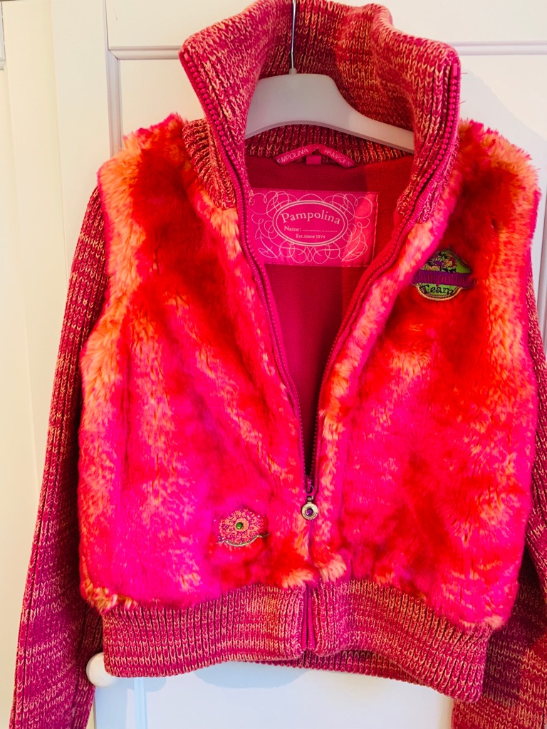 Pampolina Girl's Designer Jacket- Aged 8 years