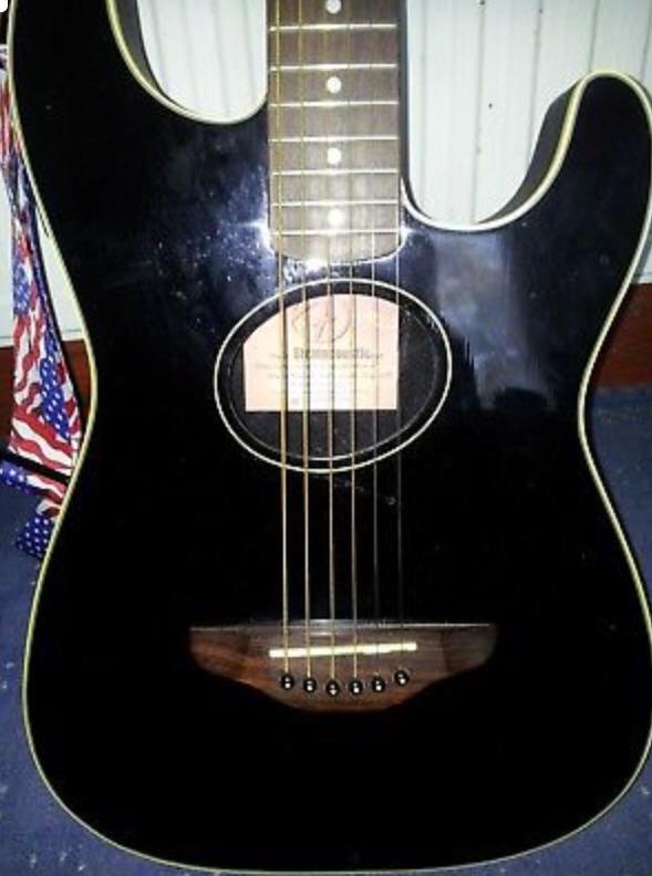Fender stratacoustic guitar, 1990s?