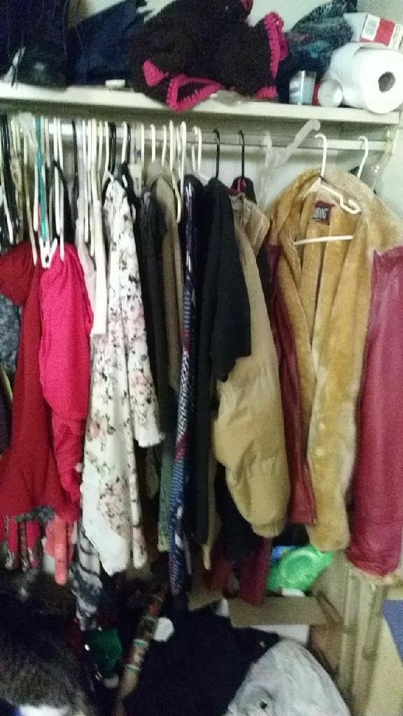 A lot of clothes
