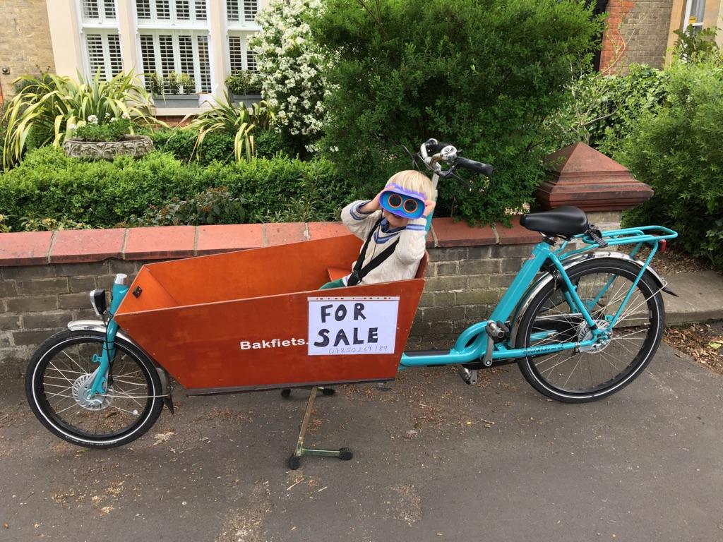 Bakfiets long cargo bike