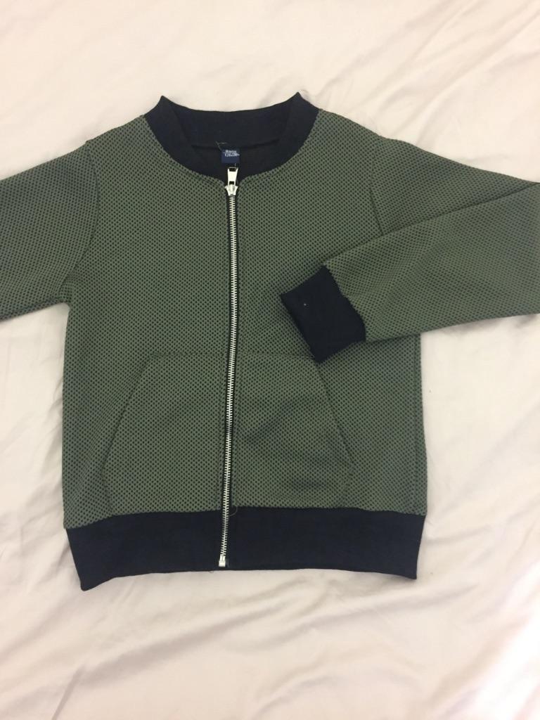 Boys khaki green jackets