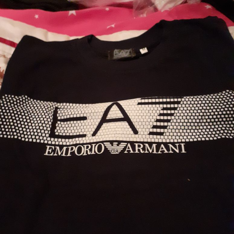 Brand new mens armani t shirt for sale