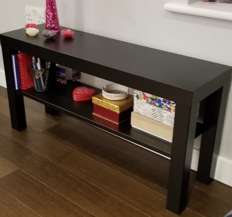 Black tv furniture