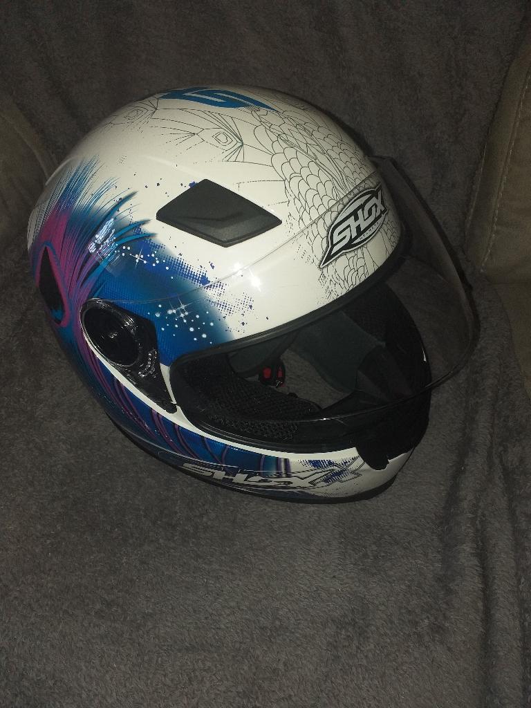 Womens motorbike helmet