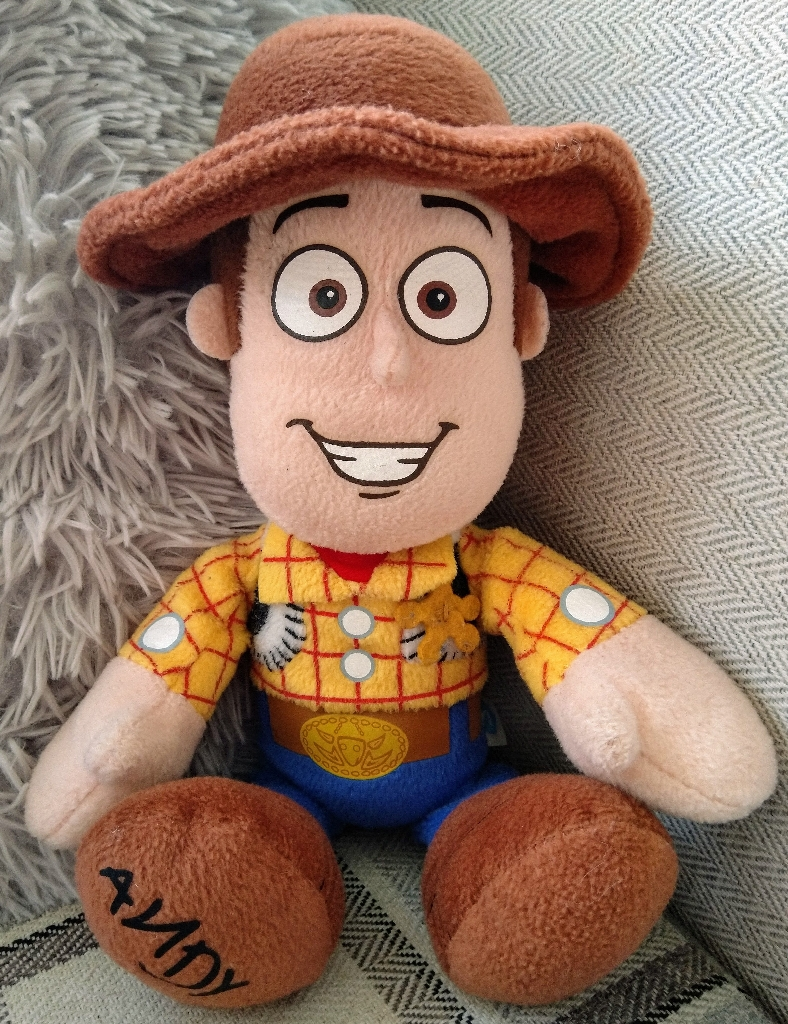 """12"""" Disney Pixar Woody Soft Toy from Toy Story"""
