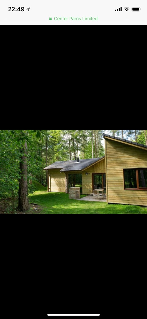 Holiday, Center Parcs at Woburn forest.