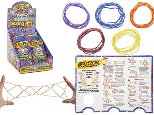 Cradlerz glitter string art cats cradle string game