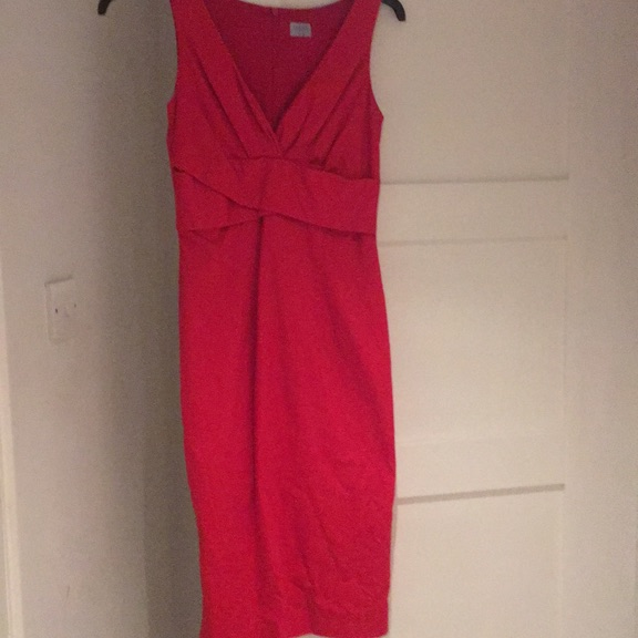 Oasis red pencil dress
